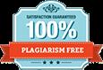 100% plagiarism free
